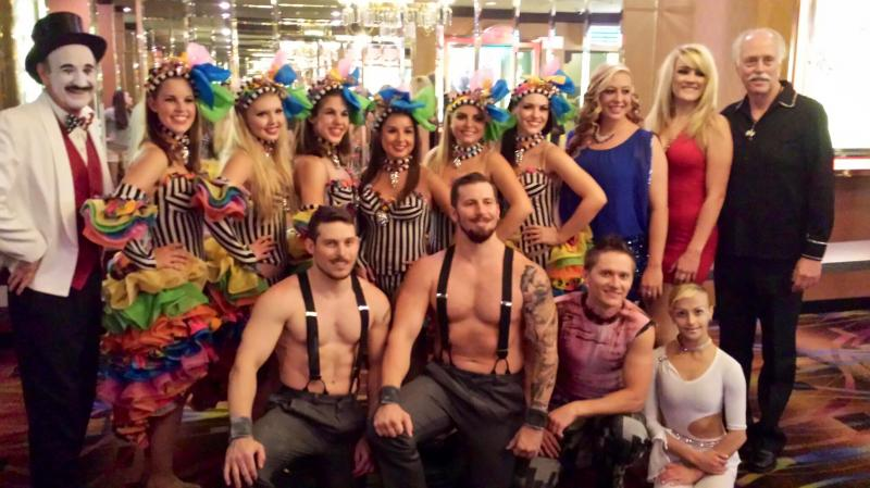 Carnaval cast photo Laughlin Nevada